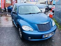 CHRYSLER PT CRUISER AUTOMATIC PETROL 2.4 LIMITED 5 DOORS 2006 50000 MILES FULL HISTORY LEATHER