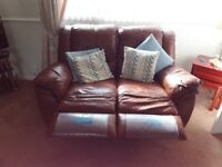 Barker & Stonehouse Leather Suite