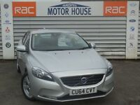 Volvo V40 D2 ES (£0.00 ROAD TAX) FREE MOT'S AS LONG AS YOU OWN THE CAR!! (silver) 2015