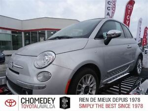 2012 Fiat 500C Lounge CONVERTIBLE AUTOMATIQUE CUIR