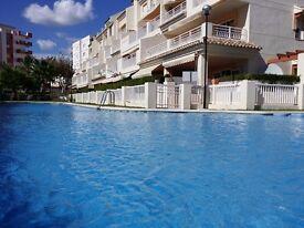 Las Dunas Javea the best location holiday accommodation beach apartment Costa Blanca Spain