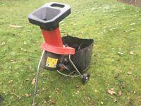 1800w garden shredder