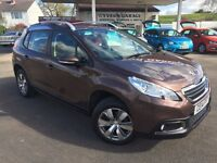Peugeot 2008 ACTIVE (brown) 2014