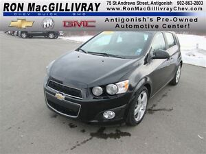 2016 Chevrolet Sonic LT Auto, Sunroof,  Htd Seats, Low kms