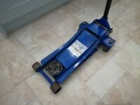 Snap On Blue Point Low Entry heavy Duty 2 Ton Trolly Floor Jack