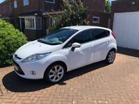 Ford FIESTA 1.4 Titanium 5 dr auto hatchback 2011 petrol low mileage - immaculate for age