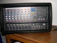 QTX PHX300 PA POWER MIXER AMP