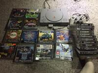Original Sony PlayStation PS1 with 24 games.