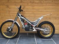 2012 Sherco 125 trials motorcycle