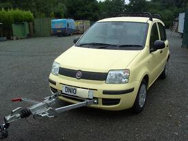 Motorhome tow car