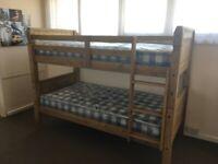 NEW Pine Bunk Beds