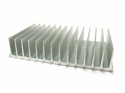 Aluminum Heatsink Heat Sink For Power Led Amplifier Transistor 165x100x35mm