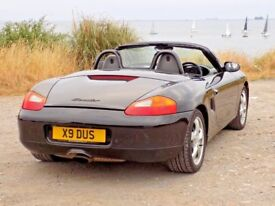 Porsche Boxster 2001 Convertible 2.7 Black. (View video)
