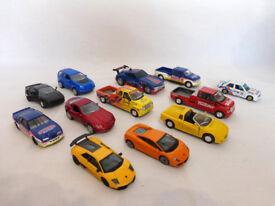 12 sports cars/vans various models