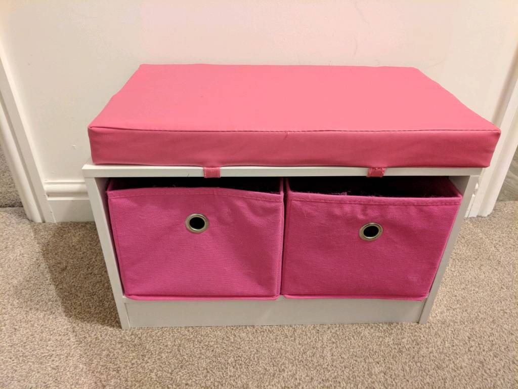 Storage chair for child's bedroom