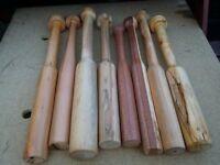 Baseball Bats Hand Carved