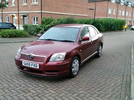 2005 TOYOTA AVENSIS T2 D-4D RED 1 YEAR MOT OK CONDITION FOR YEAR