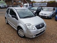 Citroen C2 1.1 i Furio 3dr, HPI CLEAR, 2 FORMER KEEPERS, LONG MOT, GOOD CONDITION, P/X WELCOME