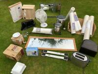 Garage clearance house and kitchen stuff brand new items all for £60