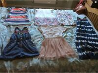 Bundle of girls dresses/playsuits ages 7-8 Next Monsoon Zara H&M Tammygirl all barely worn