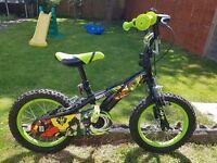 Boys Ben 10 14 inch bike