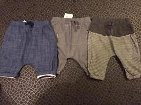 Next up to three month trouser bundle