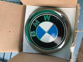 Bmw 1 series boot badge