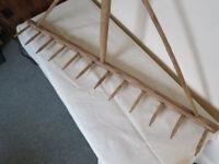 French Wooden Handmade Hay Rake