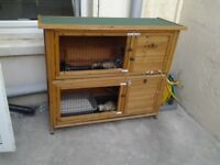 HOB an JILL with second hand 2 tier CAGE and COVER