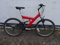 Mans full suspension mountain Bike ** i can deliver *
