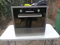 Candy built in oven used and currys hob new.