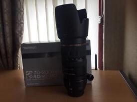 Tamron SP 70-200mm F2.8 Di VC USD Nikon fit