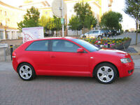 2004 audi a3 1,6, 3 door, manual petrol, 12 month mot, 96k f/s/h, hpi clear 100%