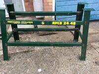 Record power lathe bench