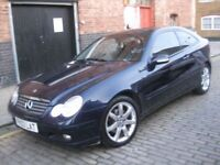 MERCEDES BENZ C220 CDI AUTOMATIC DIESEL ****** 3 DOOR COUPE