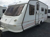 Elddis Vogue 30 SE 616 4 Berth, Double & 2 Long Singles, High Spec, Every Extra - ONLY £1995!!