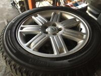 range rover discovery 2 19inch alloy wheels like new tyres