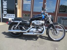 EVOLUTION MOTOR WORKS - 2007 Harley Davidson 1200 Sportster Custom - £4200