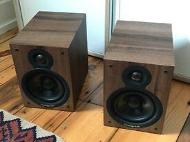 Cambridge Audio SX-50 Bookshelf Speakers - Walnut Finish