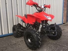 New 125cc Quad 2016 updated Reverse and speedo Free Helmet Goggles Gloves