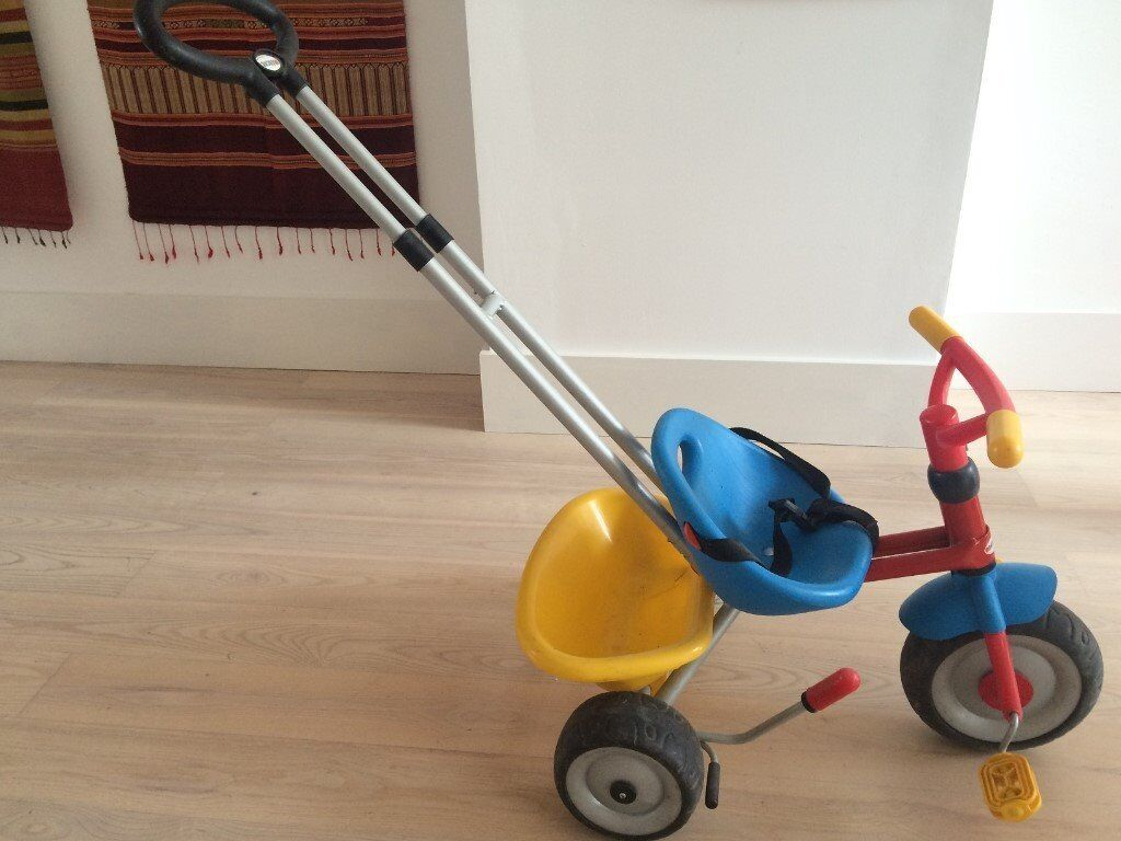 Smoby tricycle (Berchet Baby Driver), 15 months-3 years approx