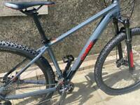 Cube Attention 29er Hardtail Mountain Bike 2021 Grey/Red