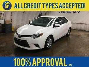 2015 Toyota Corolla LE*KEYLESS ENTRY*HEATED FRONT SEATS*BACK UP