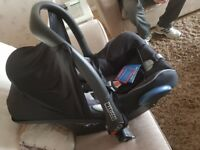 Baby Car Seat Maxi Cosi Cabriofix Group 0+ unused