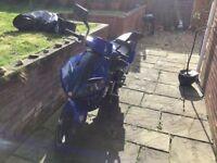 2014 CPI GTR 50cc Moped