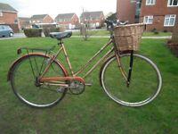 Ladies vintage Viking town bike