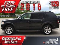 2009 Ford Explorer Limited W/ Heated Leather-Sunroof-DVD-AWD