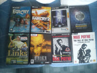 Assorted PC Video Games inc. Far Cry (1 & 2), Max Payne (1 & 2) and Deus Ex