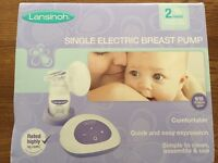 Lansinoh Single Electric Breast Pump Used once