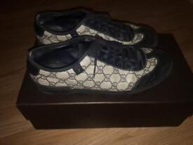 Mens Gucci trainers for sale rrp 585